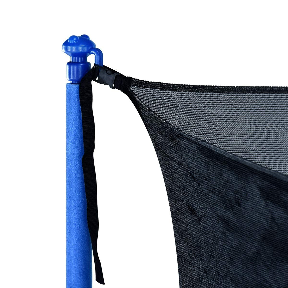 Zupapa 15FT 14FT 12FT 10FT Trampoline Inside-Enclosure net Replacement Black Mesh (12FT) by Zupapa (Image #2)