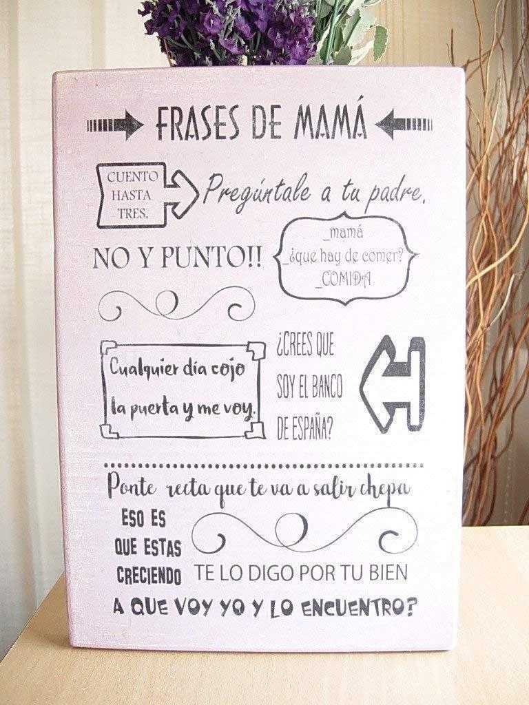Cartel de Madera Con Frases motivadoras, optimistas, con ...