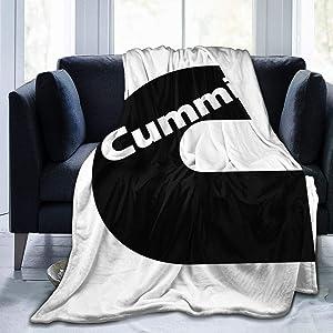 Qq15-kcdds-store Cummins Ultra-Soft Micro Fleece Blanket Winter Lightweight Quilt Keep Warm Fabric Cute Blanket Bed Sofa Home Office