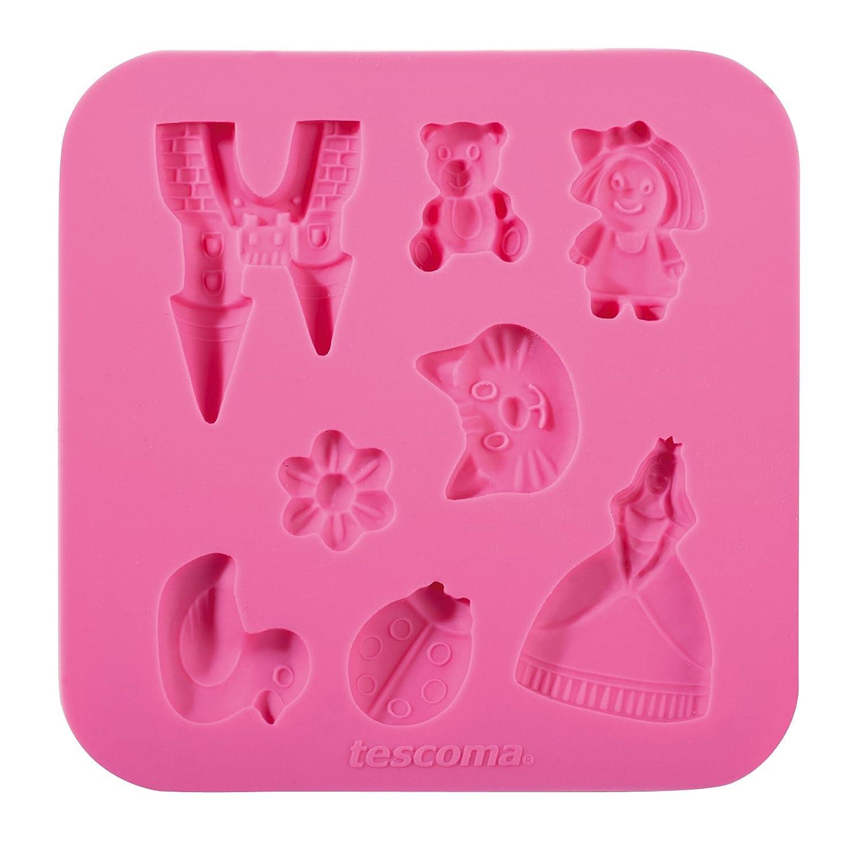 Tescoma 633010 Molde de Silicona para Pasta de azú car para niñ a T633010