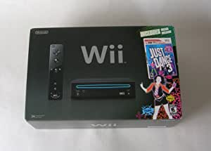 Nintendo Wii Console with Just Dance 3 Bundle - Black [video game]