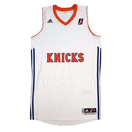 a895c25e9bac adidas Westchester Knicks NBADL White NBA D-League Authentic On-Court Team  Issued Pro
