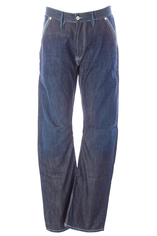 Blue Blood Men's Shoot Back Button Pocket Denim Jeans 38W x 34L CMX