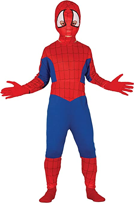 Guirca Disfraz Spiderman Hombre Araña Carnaval Niño Talla 5-6 años ...
