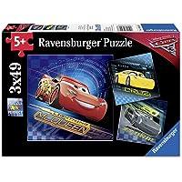 Ravensburger 3x49 Parça Yapboz WD Cars