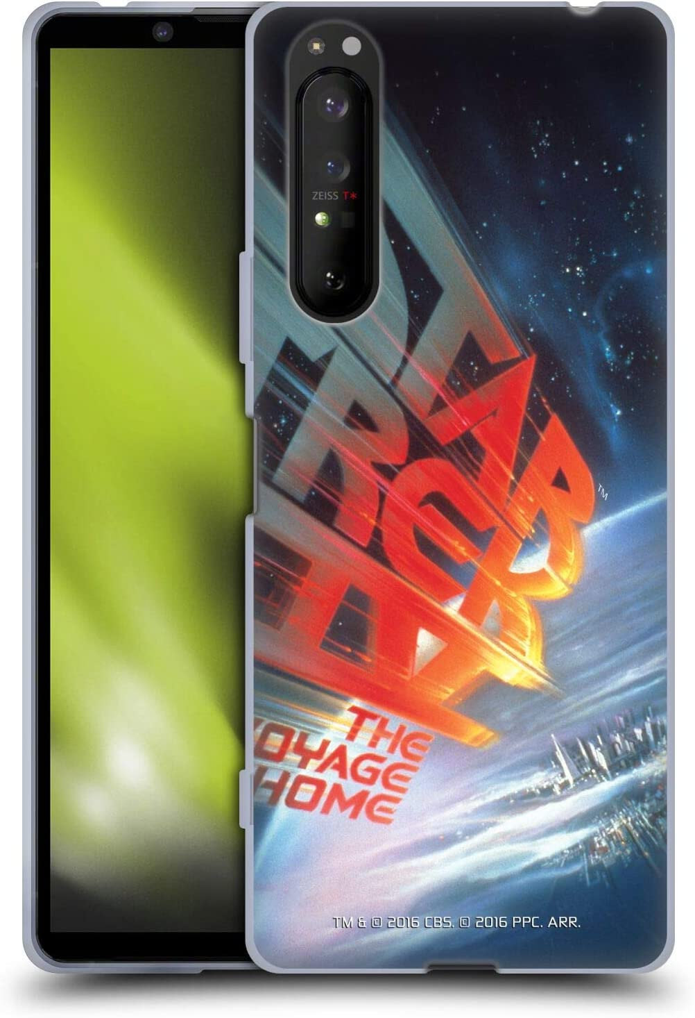 Head Case Designs Officially Licensed Star Trek The Voyage Home Movie Posters TOS Soft Gel Case Compatible with Sony Xperia 1 II