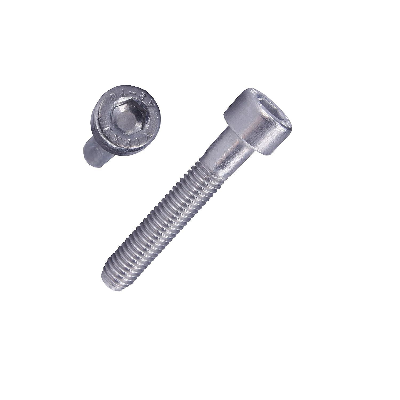 Innensechskant 5 mm 10 St/ück Zylinderkopfschrauben DIN 912 A2-70 Edelstahl M 6 x 85 mm Zylinderschrauben