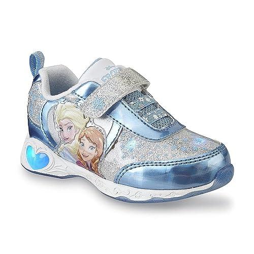 d95c2ba31a5a Disney Toddler Girl s Frozen Sneaker