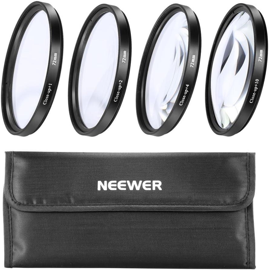 Filter Kit 72mm for Nikon D80 3 Pcs. High Grade Multi-Coated /& Threaded
