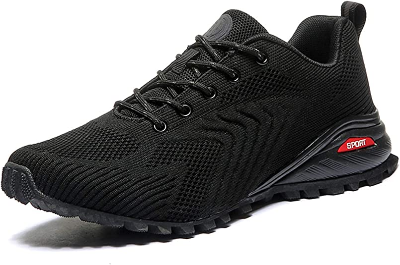 COOJOY Mens Trail Running Shoes