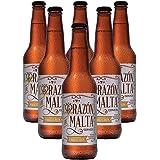 Cerveza Artesanal American Wheat Ale, Corazón de Malta, BeerPack con 6 botellas de 355 ml c/u