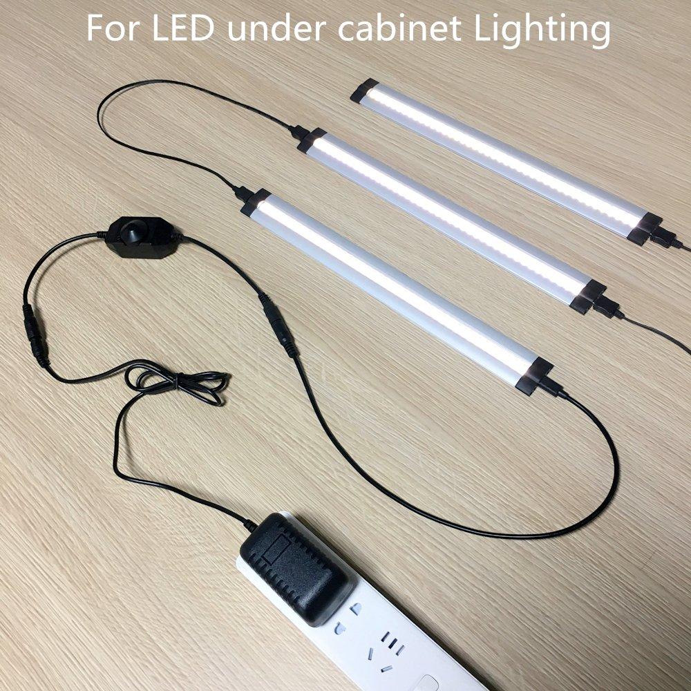 LightingWill LED Power Supply Power Supply for LED Strip Light Power Adapter 6A Max AC 100-240V to DC 12V Transformers Output 12V DC 72 Watt Max