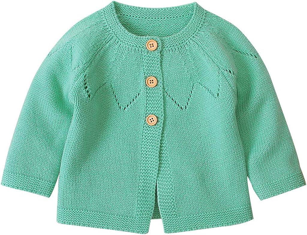 KUDICO Vetement Manteau B/éB/é Fille Mignon /à La Mode Hiver Chaud Chemisier Pin Up Chic Pull Cardigan Jacket 0-24 Mois