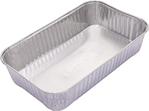 Char-Broil 2425514W12 Big Easy Grease Tray, Silver- 5 pack