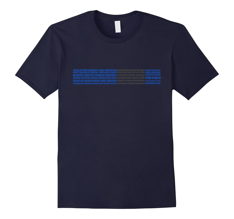 Tshirt - Brazilian Jiu-jitsu BJJ Blue belt - BJJ submission-CL