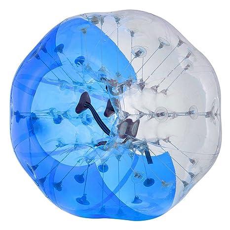 Suyi diámetro 1,5 m hinchable humanos Bumper burbuja balón de ...