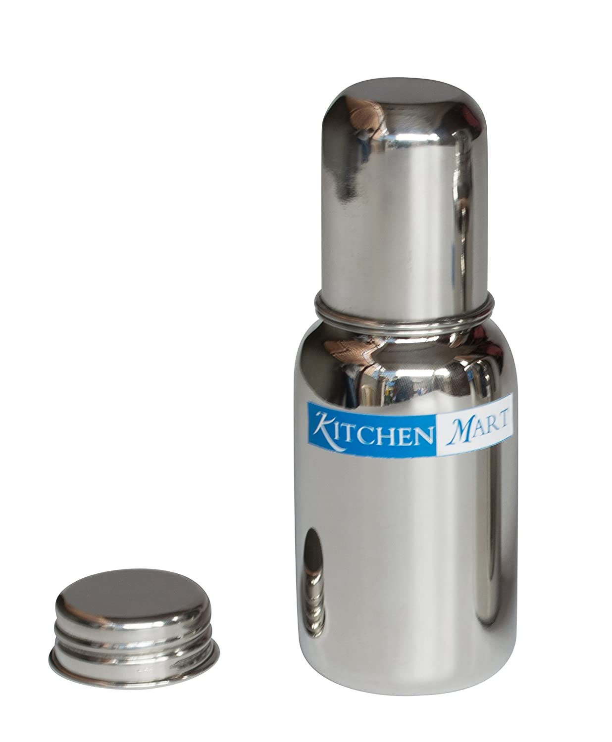 Buy Kitchen Mart Stainless Steel Baby Feeding Bottle 225ml Online at ...