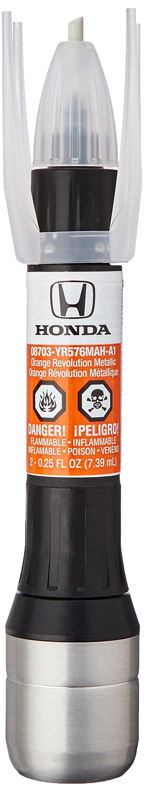 Genuine Honda (08703-YR576MAH-PN) Touch-Up Paint, New Brilliant Orange Metallic, Color Code: YR576M