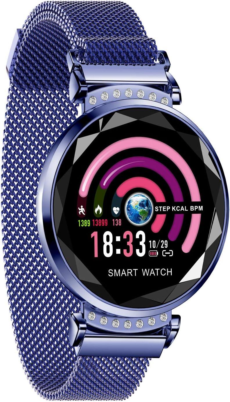 AOCKS H2 Smart Watch Blood Pressure Heart Rate Monitor Sport Waterproof Bracelet New Fitness Tracker