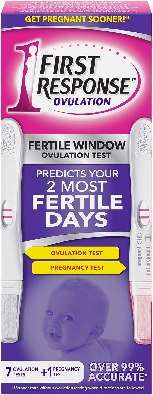 First Response Ovulation Test, 7-Test Kit Plus 1 Pregnancy Test