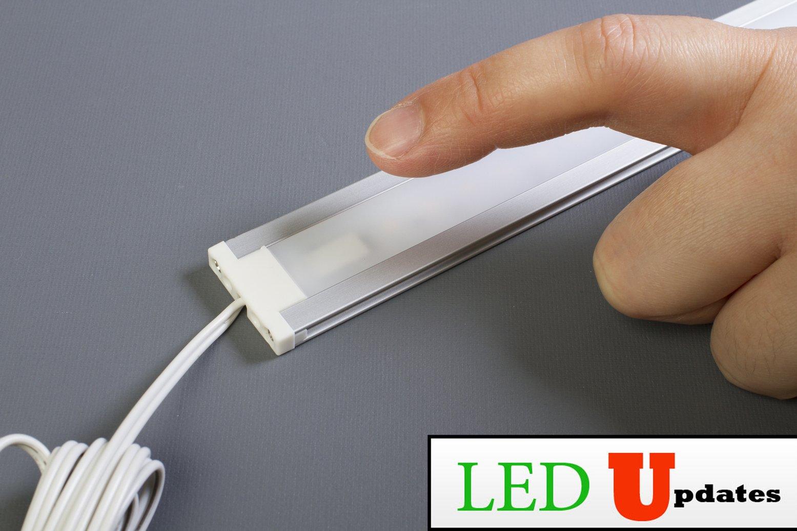 LEDupdates 24 inches Under Cabinet LED light for work shop & closet with UL Power adapter by LEDUPDATES (Image #6)