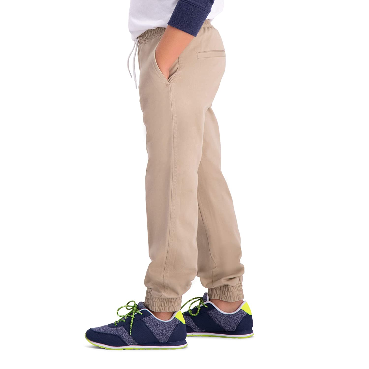 Haggar Big Boys Youth Slim 8-20 Sustainable Jogger Pant