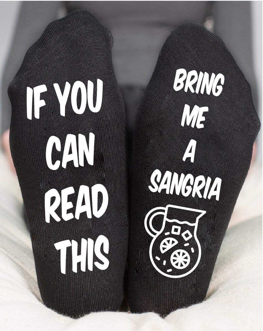 Socks For Women's Sangria Funny Gifts For Her Tropical Drink