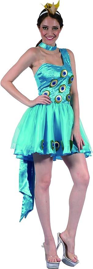 Disfraz de pavo real mujer - M: Amazon.es: Juguetes y juegos