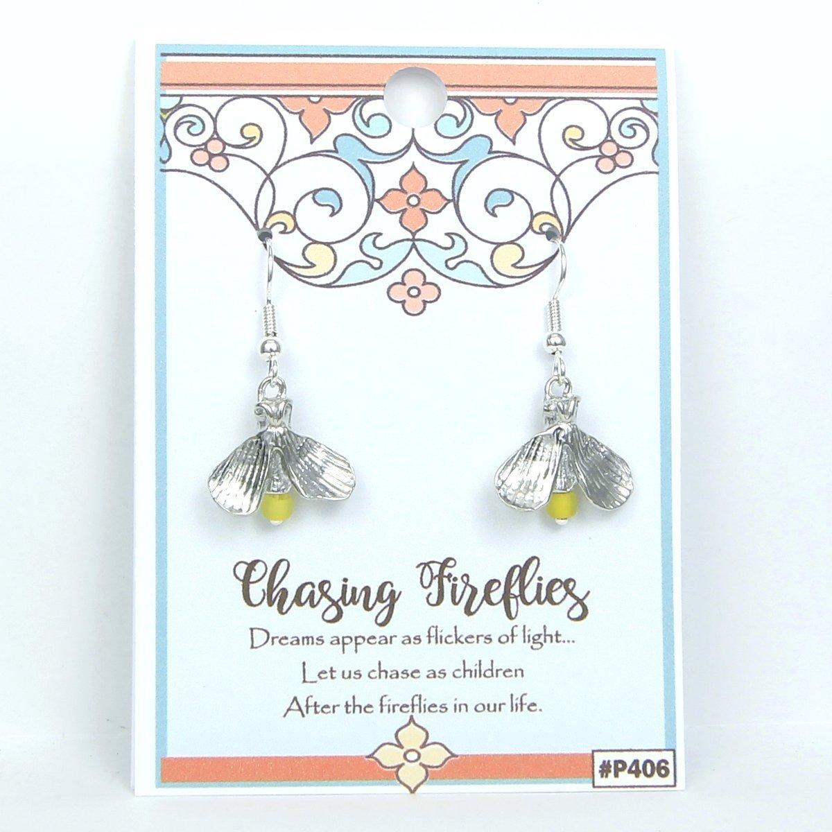 Amazon Firefly Lightning Bug Earrings Gift Packaged