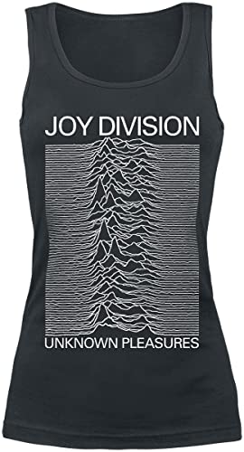 Joy Division Unknown Pleasures Top donna nero S
