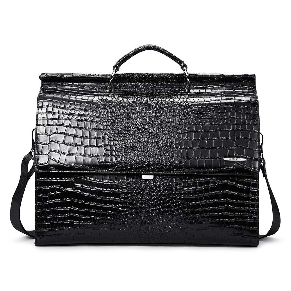 04cc7c62a31f BOSTANTEN Leather Briefcase 16