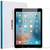 """Anker iPad Panzerglas Schutzfolie, Premium Hartglas Displayschutz für iPad Air/iPad Air 2 / iPad Pro 9.7"""" / New iPad 9.7"""" (2017) / iPad 9.7"""" (2018) mit Einer Härte von 9H und Einfacher Anbringung"""
