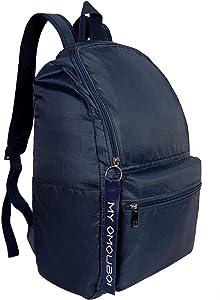 Backpack for Women, OMOUBOI 14 Inch Waterproof Laptop School Bag Travel - Blue 2