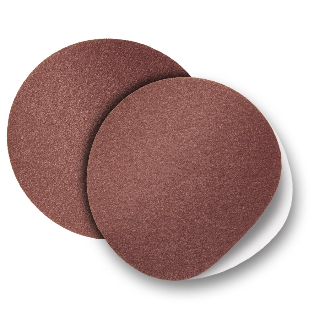 10' Cloth Backed Psa Adhesive Sanding Disc 120 Grit - 2 Disc Pack By Peachtree Woodworking Pw6079