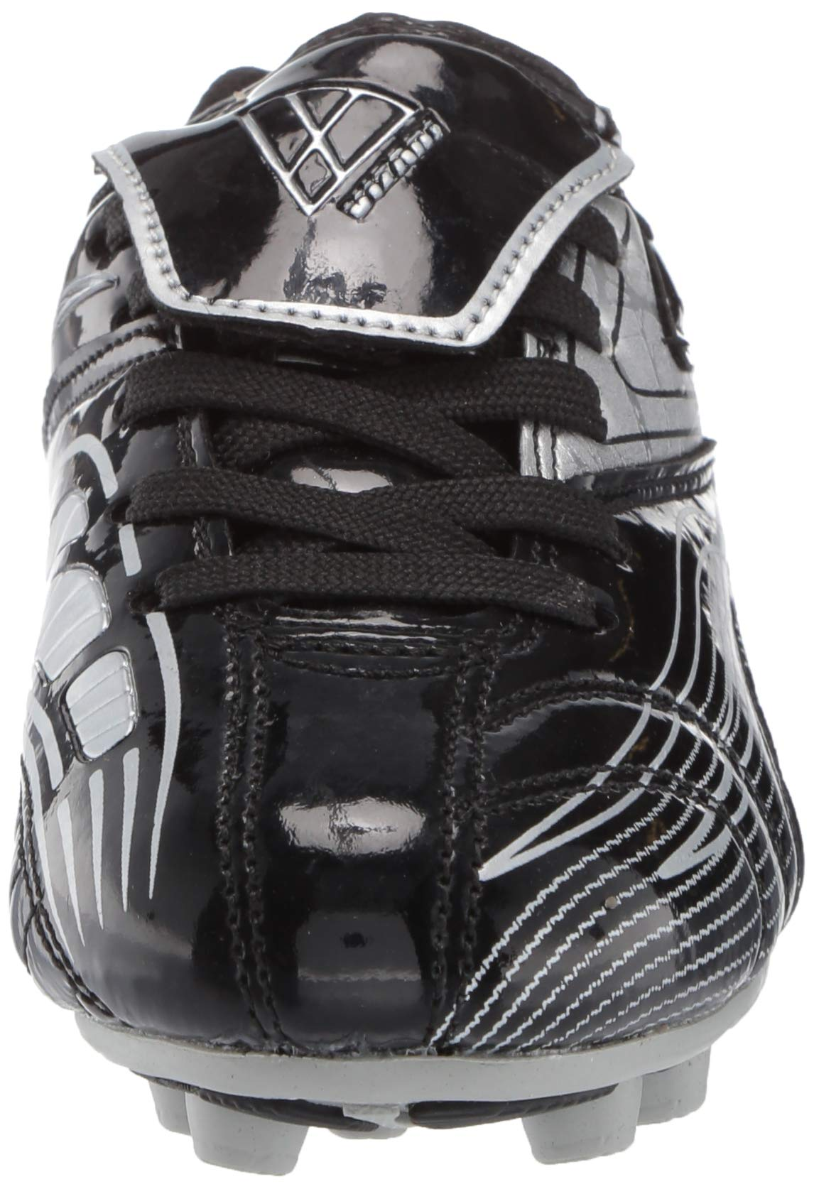 Vizari Striker FG Soccer Shoe (Toddler/Little Kid/Big Kid),Black/Silver,10 M US Toddler by Vizari (Image #4)