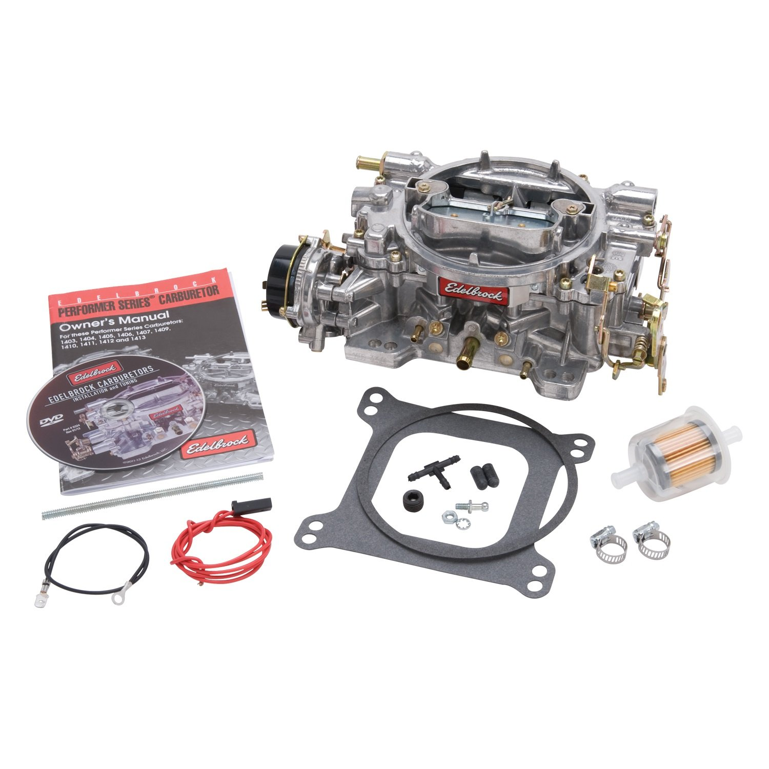 71fObCUq2rL._SL1500_ amazon com edelbrock 1406 performer 600 cfm square bore 4 barrel edelbrock 1406 electric choke wiring diagram at bakdesigns.co
