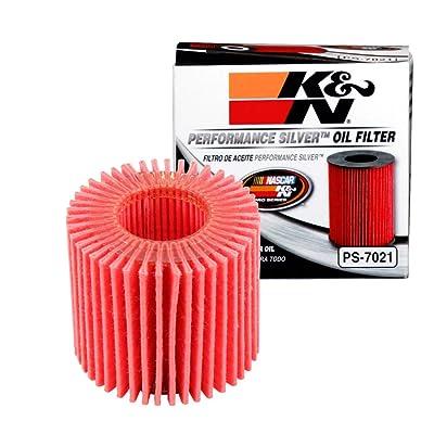 K&N Premium Oil Filter: Designed to Protect your Engine: Fits Select 2008-2020 TOYOTA/LEXUS/SCION/PONTIAC (C-HR, Corolla, Prius, Matrix, CT200h, iM, xD, Vibe), PS-7021: Automotive