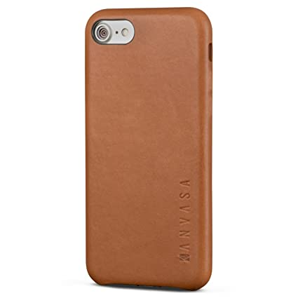 brand new 5134d aae76 iPhone 7 Leather Case Brown - KANVASA