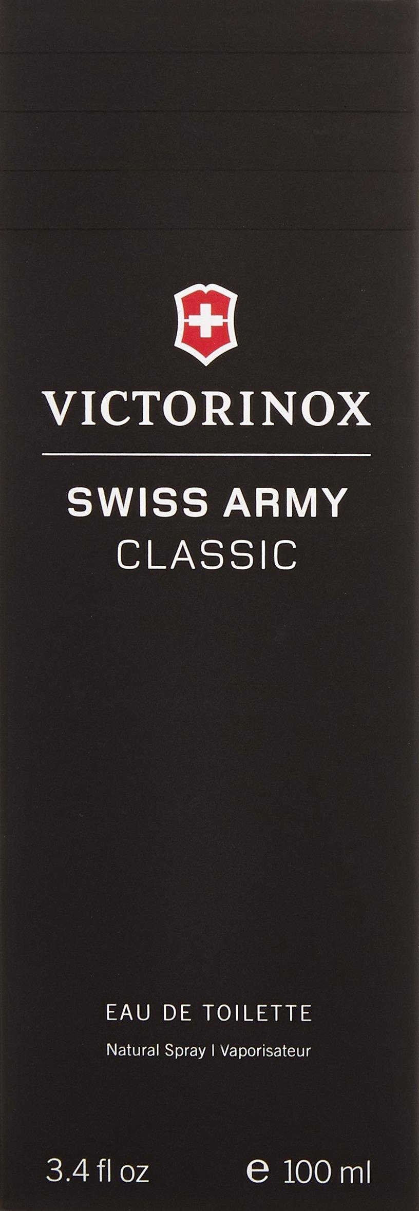Victorinox Swiss Army Eau de Toilette Spray for Men, 3.4 Ounce