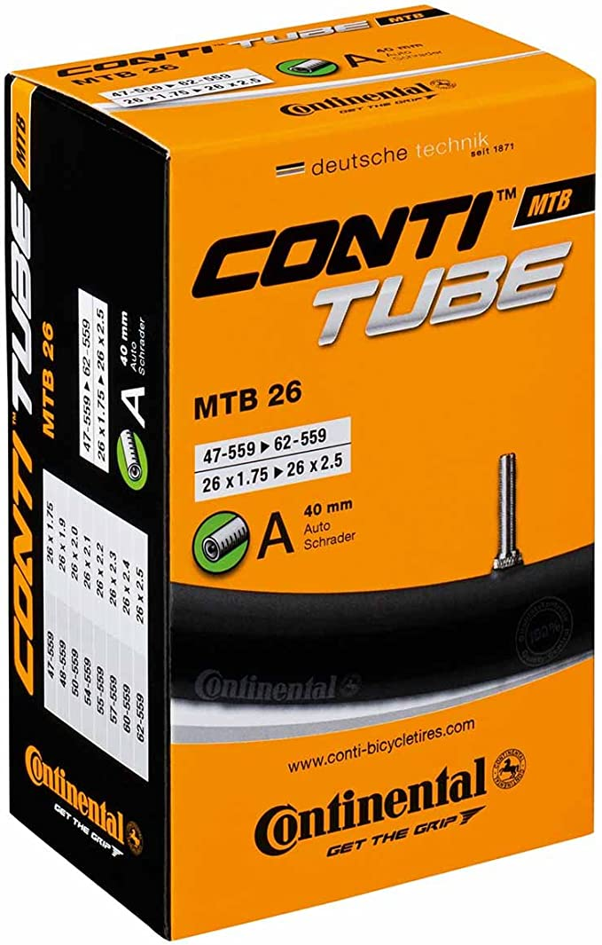 "Continental Bike Tube (26"", 27.5"", 29"", 700)"