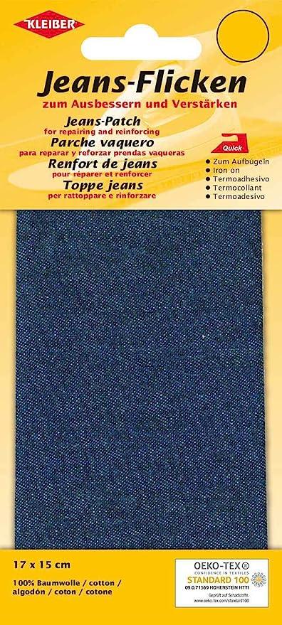 Kleiber - Parche de reparación para Pantalones Vaqueros, 17 x 15 ...