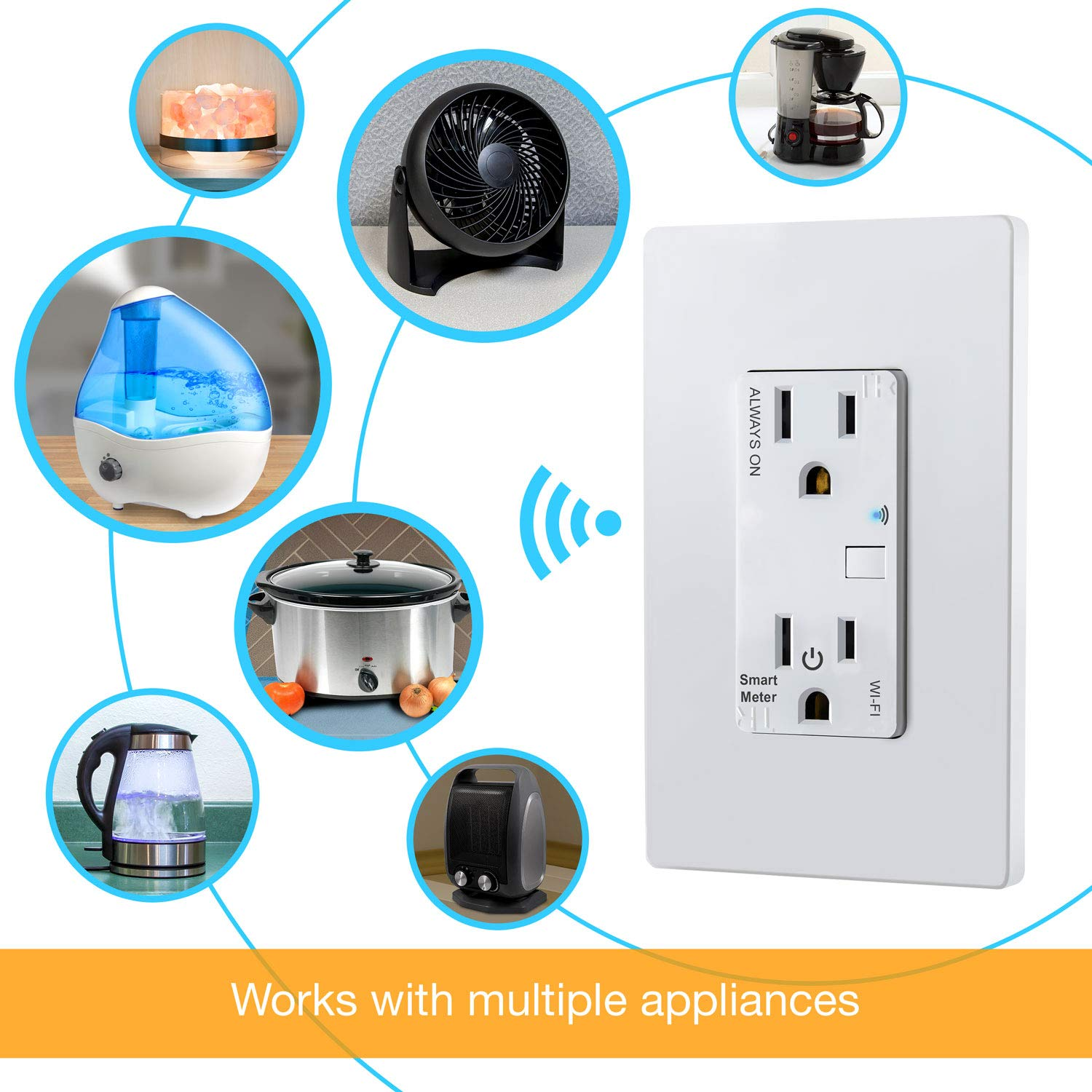 Topgreener Smart Wi Fi Switch Control Lighting From Anywhere In 3 Way Always On Wall Single Pole Or
