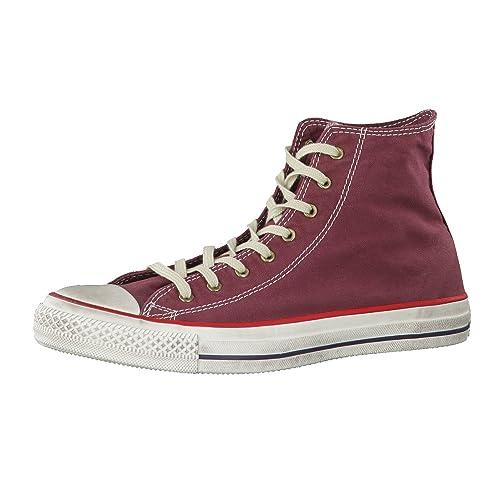 Converse Zapatillas All Star Prem Hi Canvas Washed Burdeos EU 38 (US 5.5)