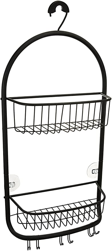 Amazon.com: mDesign Bathroom Shower Caddy for Shampoo, Conditioner ...