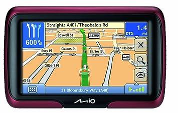 mapas gps mio moov m400