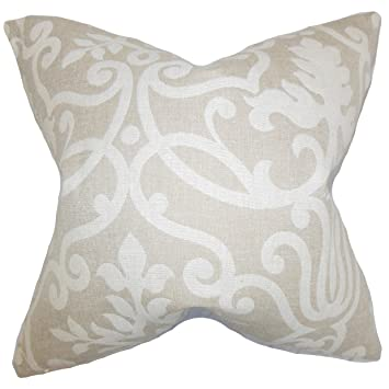 Amazon The Pillow Collection P40MKENNEDYLINENP40C40 Mesmerizing M Kennedy Home Grand Paisley Decorative Pillow