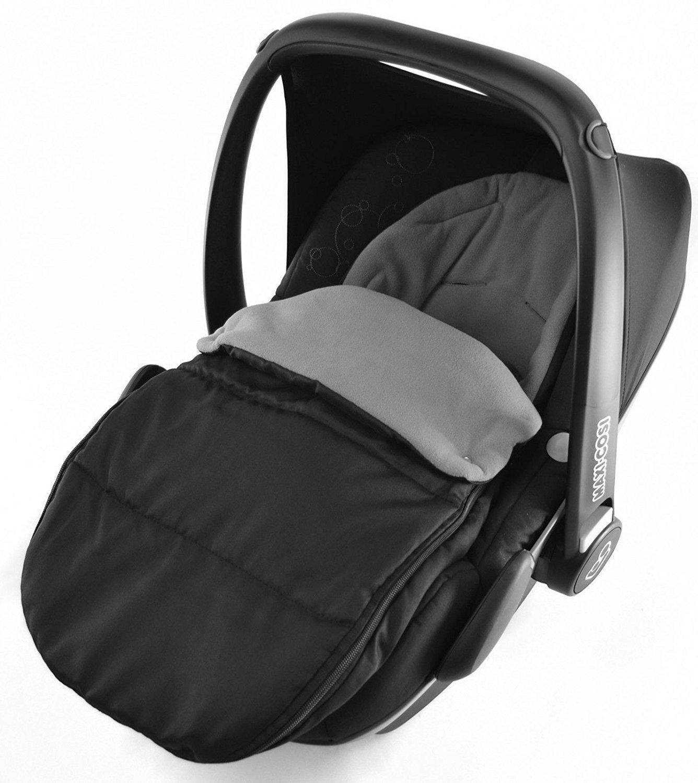 Delfingrau Universal-Fu/ßsack f/ür Babyschale Maxi Cosi Cabrio Pebble