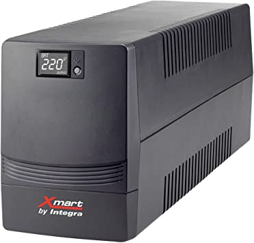 Xmart by Integra SAI-SUPRA-1601 Sistema de alimentaci/ón ininterrumpida Color Negro