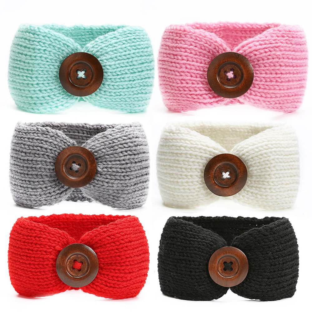 Amazon Ranipobo Pack Of 6 Baby Girl Knit Crochet Turban