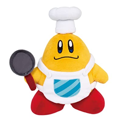 "Sanei Kirby Adventure Series All Star Collection 7.5"" Chef Kawasaki Plush: Toys & Games"